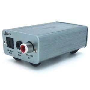 REPARTITEUR TV Décodeur Adaptateur Convertisseur USB Audio vers O