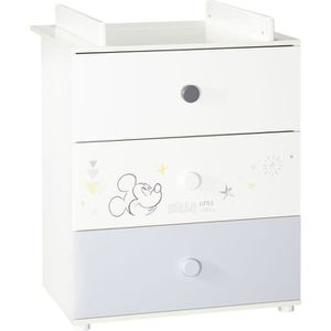 TABLE À LANGER BABY PRICE - MICKEY - commode a langer 3 tiroirs s