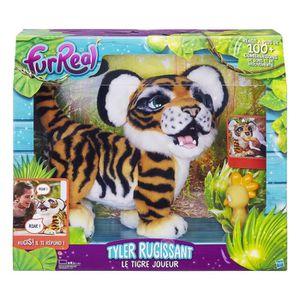 PELUCHE Furreal Friends - Tyler Le Tigre Joueur - Peluche