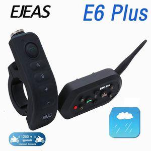 INTERCOM MOTO GAOHOU EJEAS E6 Plus VOX Bluetooth Interphone Moto