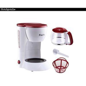 COMBINÉ EXPRESSO CAFETIÈRE De haute qualité machine 5 tasses Espresso blanc D