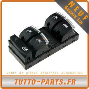 arrière noir 10pin Set Pour Audi a3 8 PA a6 4 F q7 4 L leve vitre interrupteur avant