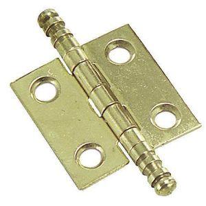 85/mm Marron bo/îte /à outils Pour bo/îte /à bijoux Style antique et vintage Rzdeal Paire de charni/ères en laiton en forme de fl/èche