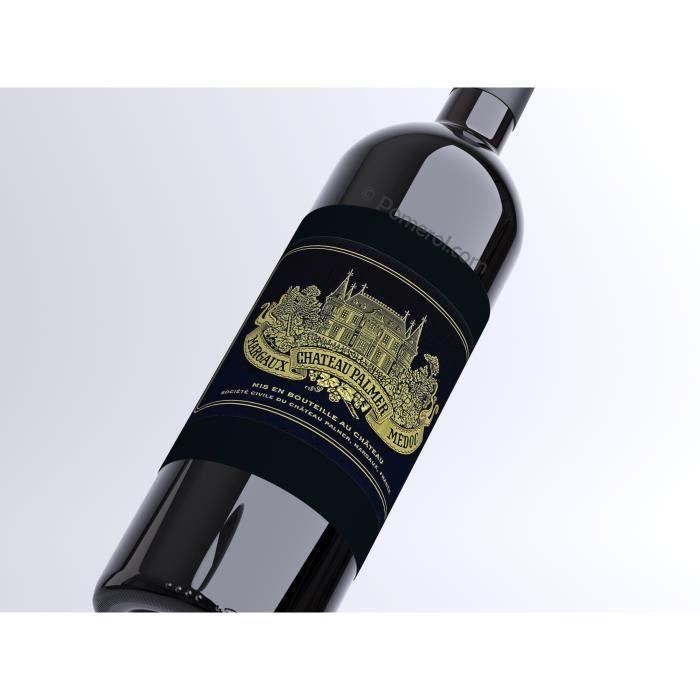 X3 Château Palmer 2016 - AOC Margaux - 3ème Cru Classé - vin rouge - Bouteille (0,75cl)