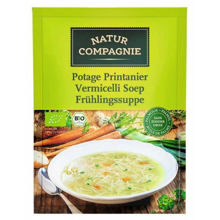 Natur Compagnie Soupe Du Printemps Déshydratée 0,5L (carton de 12)