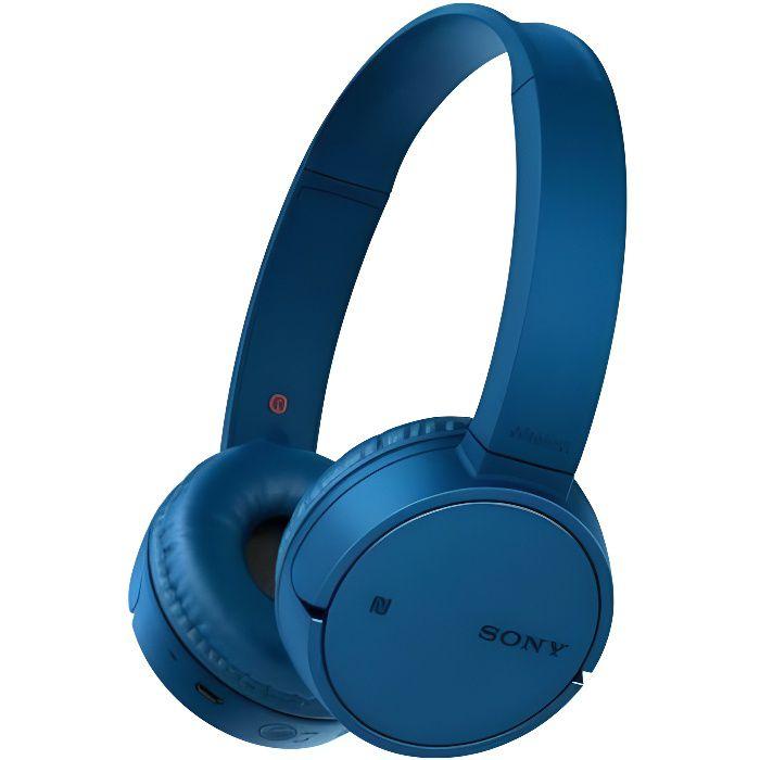 SONY WHCH500L Casque Bluetooth - Bleu