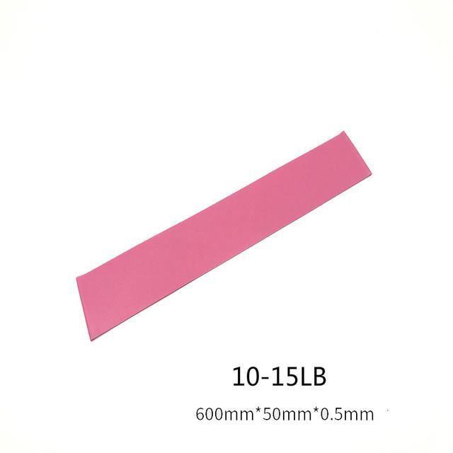 Fitness résistance exercice gymnastique musculation équipement d'exercice Pilates élastique - rose foncé