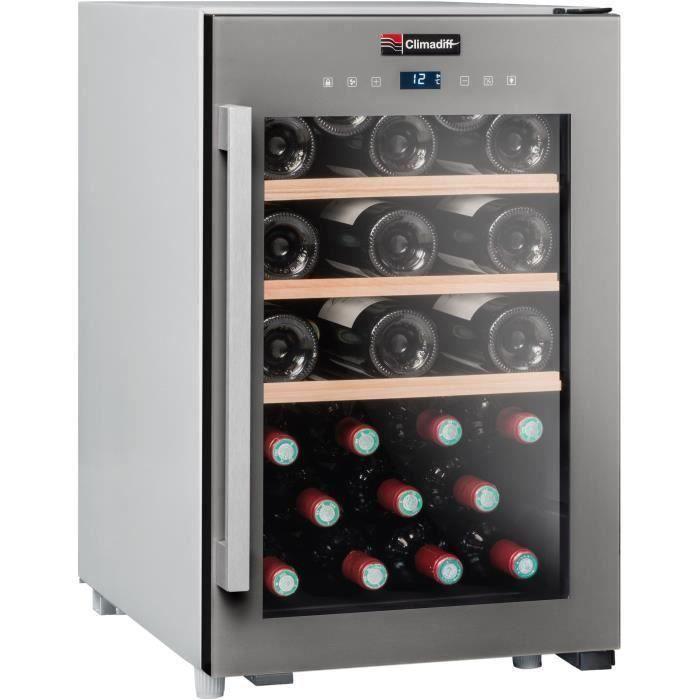 CLIMADIFF - CLS31 - Cave de service - 31 bouteilles - Pose libre - A - L40 x H63cm