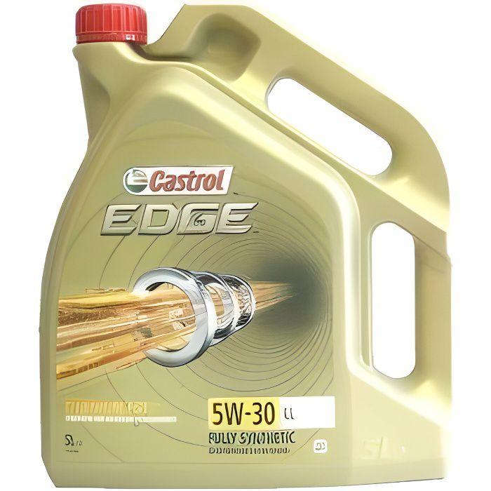 Castrol Edge 5W30 LL Titanium FST - Huile de moteur 5 l