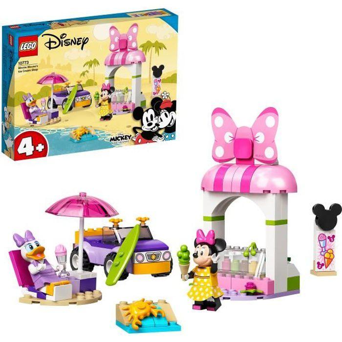 LEGO® 10773 Disney® Le magasin de glaces de Minnie Mouse Jouet Enfants 4+ ans avec Figurine Daisy
