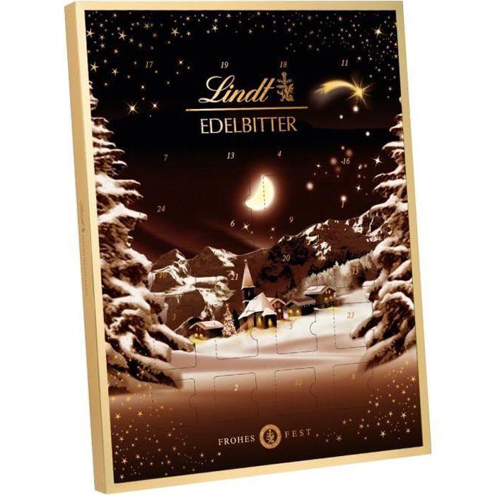 Lindt Chocolat Noir Calendrier de l'Avent 250g