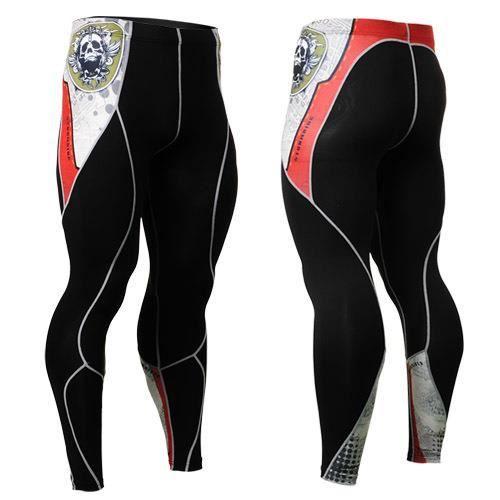 Compression Homme Collants base Pantalons de course Layer Jambières