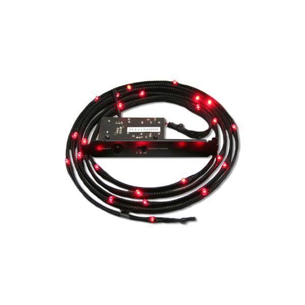 Gaine Lumineuse NZXT 12 Leds Rouge, 1 m (CB-LED10-