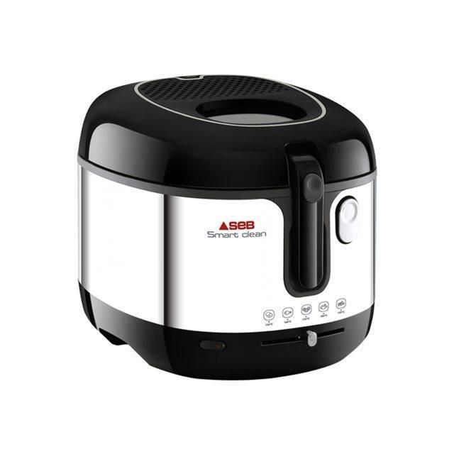 SEB - Friteuse classique smart clean noir/inox - FR460000