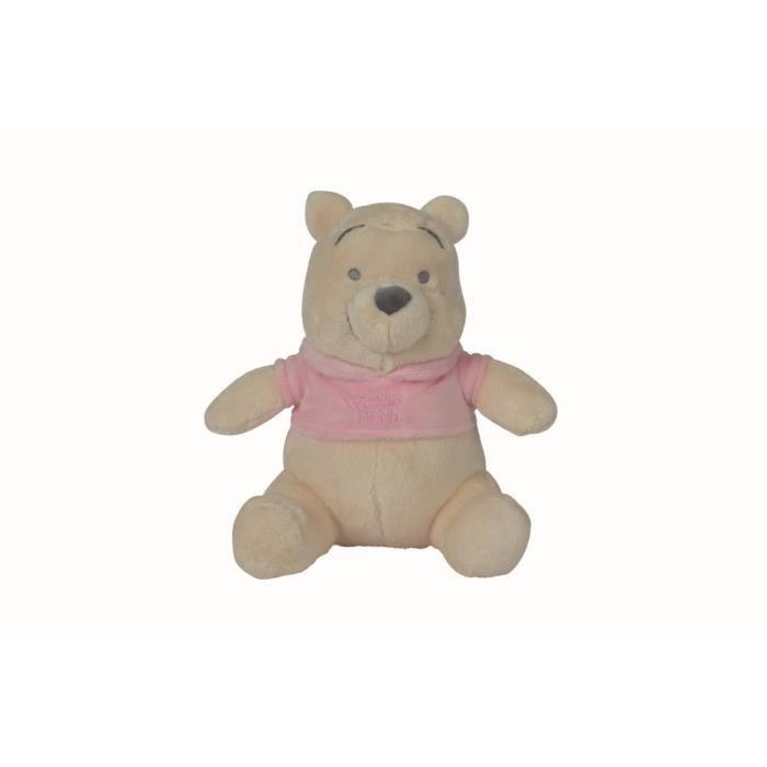 WINNIE Peluche Rose pâle 25 cm - Disney baby Tonal