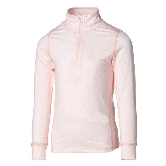 WANABEE Sous-vêtement de randonnée Fit WarZip - Fille - Rose Clair