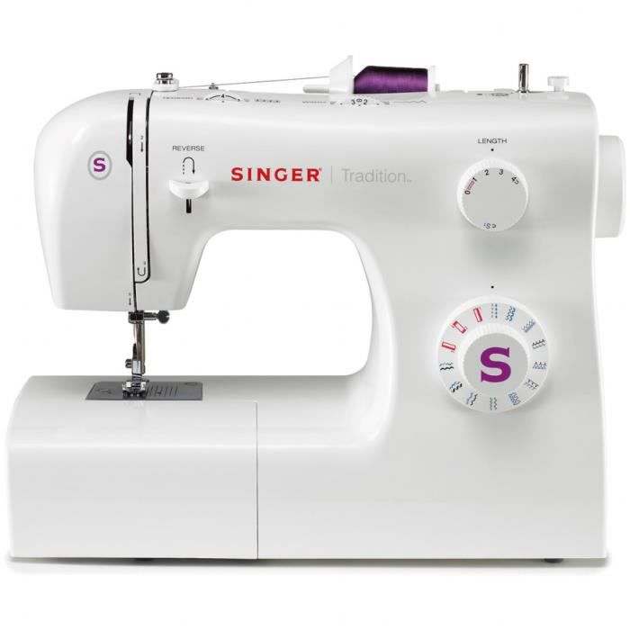 Machines à coudre Machine à coudre Simple 2263 85 W Blanc