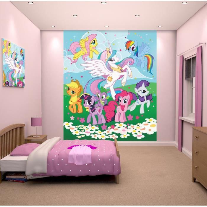 MON PETIT PONEY Fresque Murale Décorative Mon Petit Poney