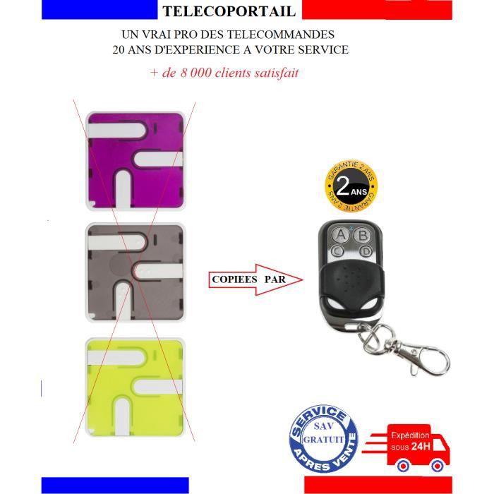 TELECOMMANDE COPIEUSE MONSEIGNEUR TDR400 3845 3846 3847 ARC2 ARC4  433,92 Mhz