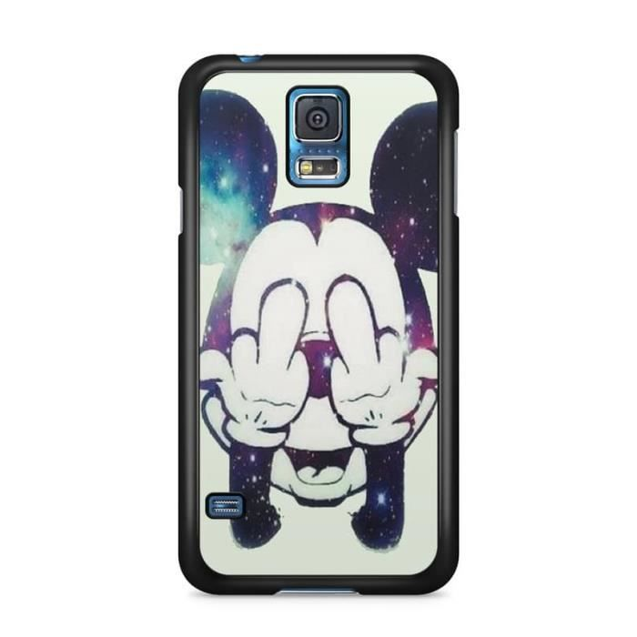 Coque Samsung Galaxy S4 mini Disney mickey OBEY swag fuck weed ...