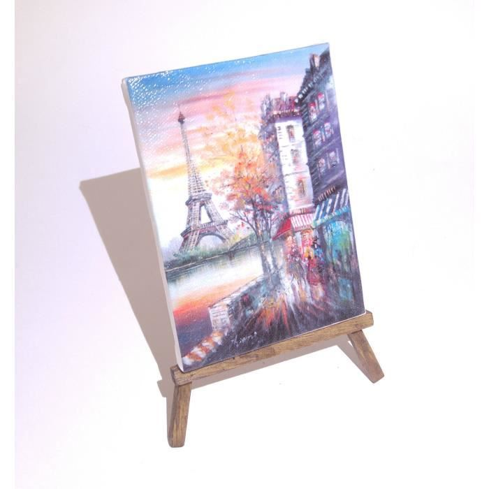 impression sur toile tour eiffel printing on canvas of the eiffel tower achat vente objet. Black Bedroom Furniture Sets. Home Design Ideas