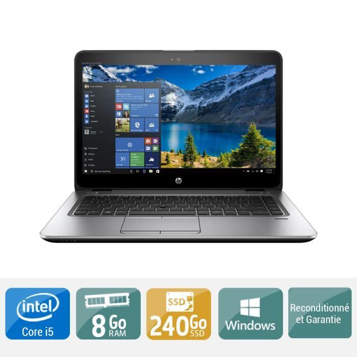 PC RECONDITIONNÉ Ordinateur portable HP ELITEBOOK 840 G3 core i5 8