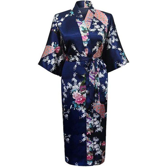 GBYGDQ Kimono japonais Ukiyo-e pour homme et femme Small Coton Noir