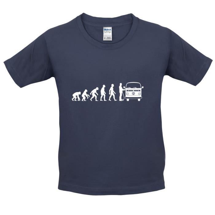 T-SHIRT Dressdown - Evolution de l'homme Caravane Volkswag