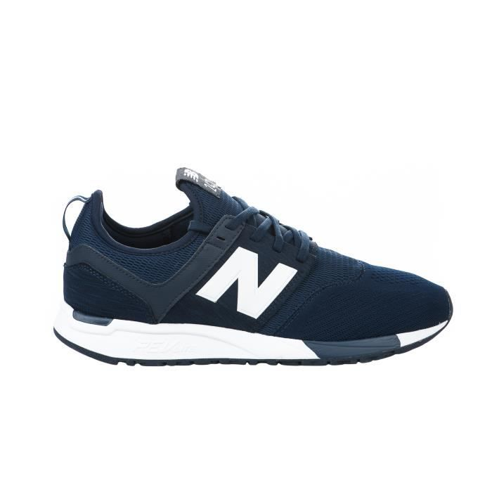 new balance bleu et marron
