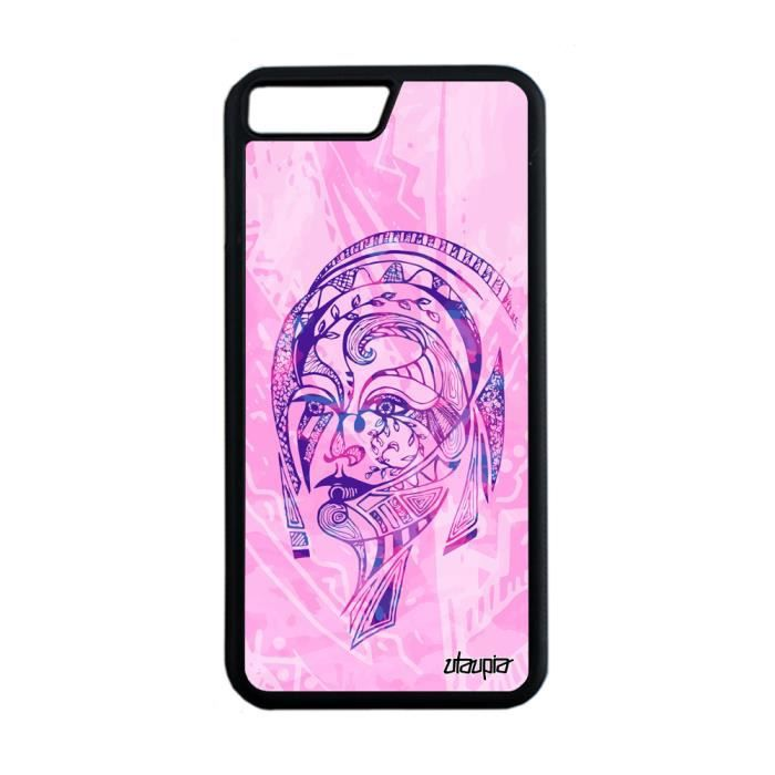 coque iphone 7 silicone plume