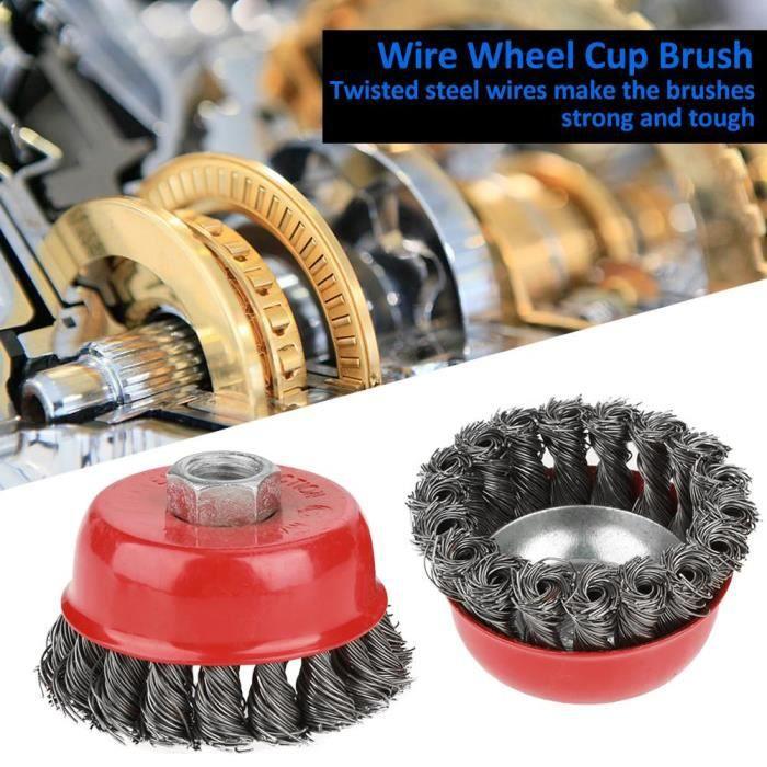 Kampfhausen Balais charbons charbons de moteur pour Bosch 6/x 16/x 26/mm gsh10/C gsh11e gbh10dc gbh11de h410/a