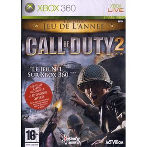 JEUX XBOX 360 CALL OF DUTY 2 / XBOX 360