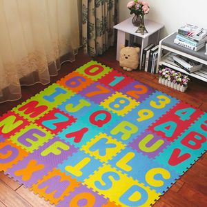 TAPIS DE JEU MISS - Puzzle tapis mousse bébé alphabet et chiffr