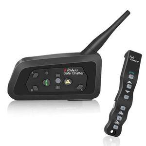 INTERCOM MOTO LEXIN LX-A4 Intercom Moto Bluetooth avec Télécomma