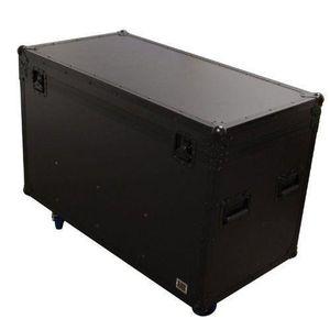 COFFRE - MALLE Black Case PAR CASE Flightcase avec Roulettes pour