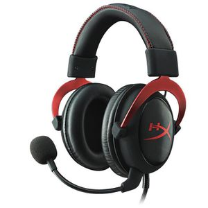 CASQUE AVEC MICROPHONE Casque-micro Pro Gaming PC/PS4/Mac/Mobile Rouge