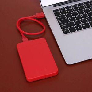 DISQUE DUR EXTERNE ABS 2,5 pouces USB 3.0 SATA Boîte de Disque dur ex