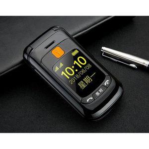 SMARTPHONE Téléphone grosses touches mobile sénior à clapet -