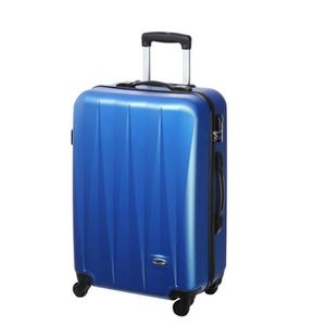 VALISE - BAGAGE CASINO Valise trolley ABS - 60cm - 4 roues - Bleu