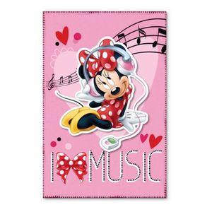 COUVERTURE - PLAID Plaid polaire Minnie Mouse couverture STAR Music