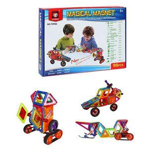 ASSEMBLAGE CONSTRUCTION MOGOI 98pcs Jouet Pièce magnétique pour enfants As