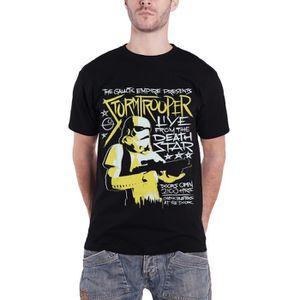 T-SHIRT Star Wars T-Shirt Stormtrooper Rock Affiche nouvea