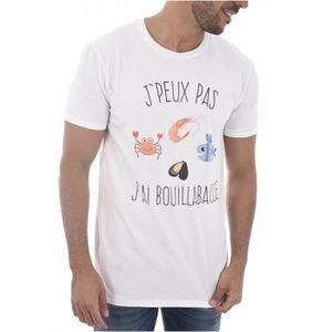 T-SHIRT Tee Shirt Tendance à Message  - Les Tricolores