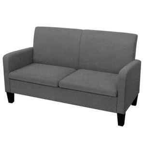CANAPÉ - SOFA - DIVAN Canapé à 2 places Sofa 135 x 65 x 76 cm Tissu + mo