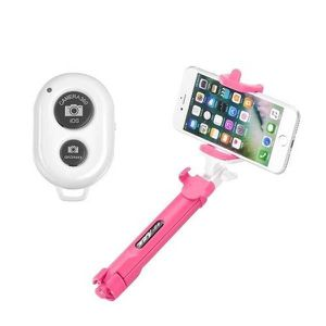 FIXATION - SUPPORT Perche selfie trepied bluetooth ozzzo rose pour wi