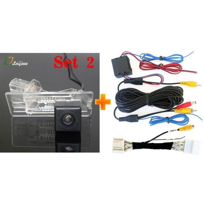 Caméra de recul pour Renault Dacia Duster HS, Kits de caméra de recul pour voiture, écran OEM Compatible, première [5B9DD46]