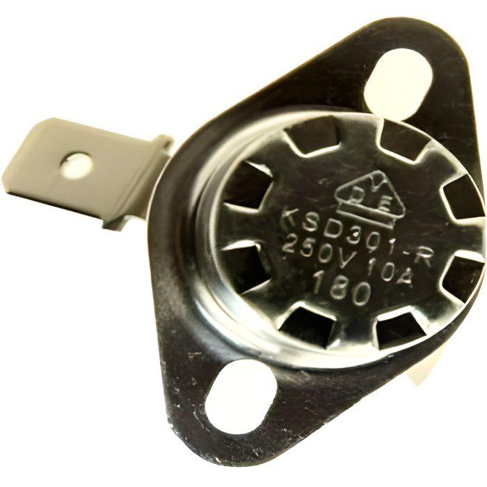 Thermostat 180° Ksd301-r Ref 5206001100 Pour PIECES PREPARATION DES BOISSONS PETIT ELECTROMENAGER