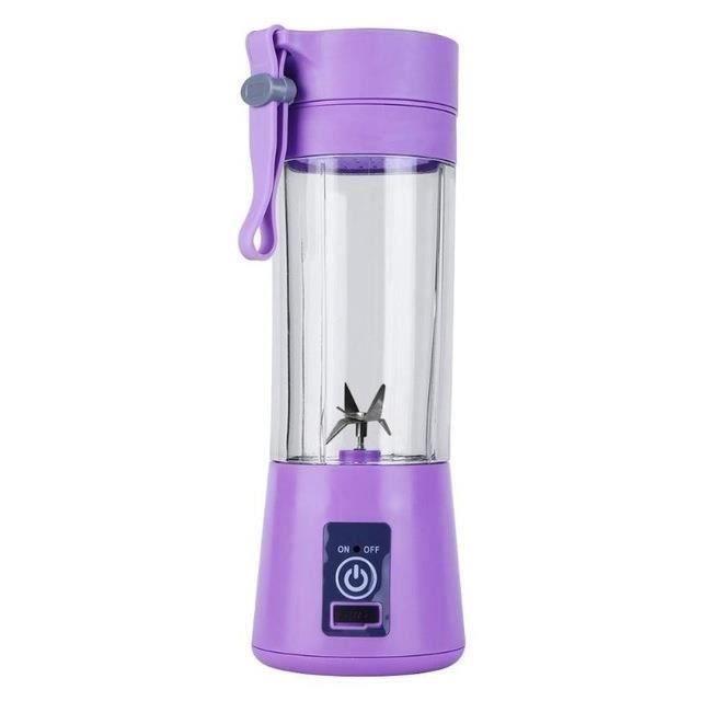 Blender à Smoothie 380 ml Mixeur Cup USB Rechargeable Electric Automatique Légumes Fruits Agrumes Orange Juice Maker Mixer - 244976
