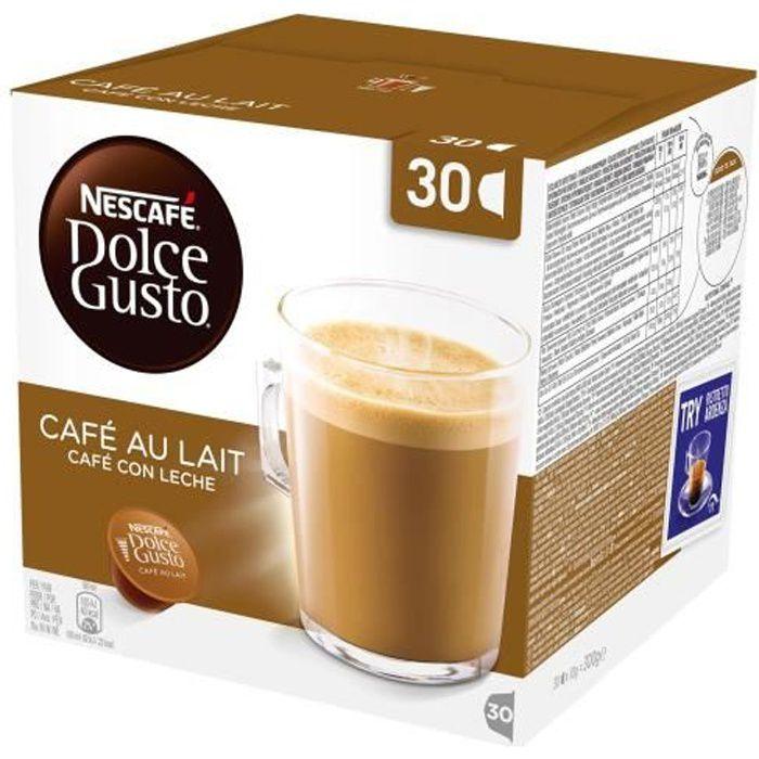 NESCAFÉ Dolce Gusto Café au Lait Café (capsule) 300 g pack de 30