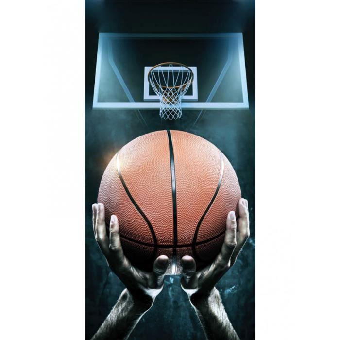 Cerceaux de Basket Serviette de Plage et Bain